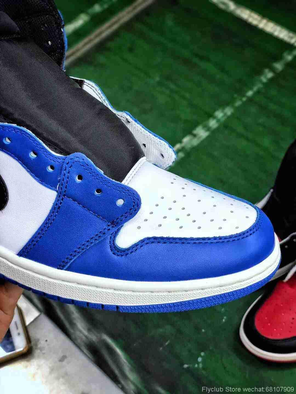 img 9055 - ST纯原 👏🏻Air Jordan 1 小闪电 首批出货 ,可对比市面一切版本 首家做到完美后跟定型‼️鞋型可自己对比外面任何版本 ,真正的SADESA原皮 包括你所能见到的所有材料细节都是原厂