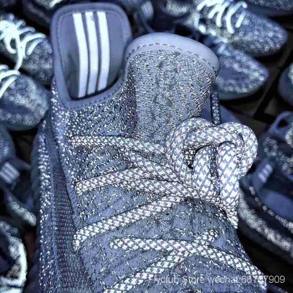 """过验版Adidas 350V2 Boost """"Static"""" 满天星配色,全球限量款全反光✔️ 全鞋材料均支持验证,原底面巴斯夫Boost 真正市面唯一"""