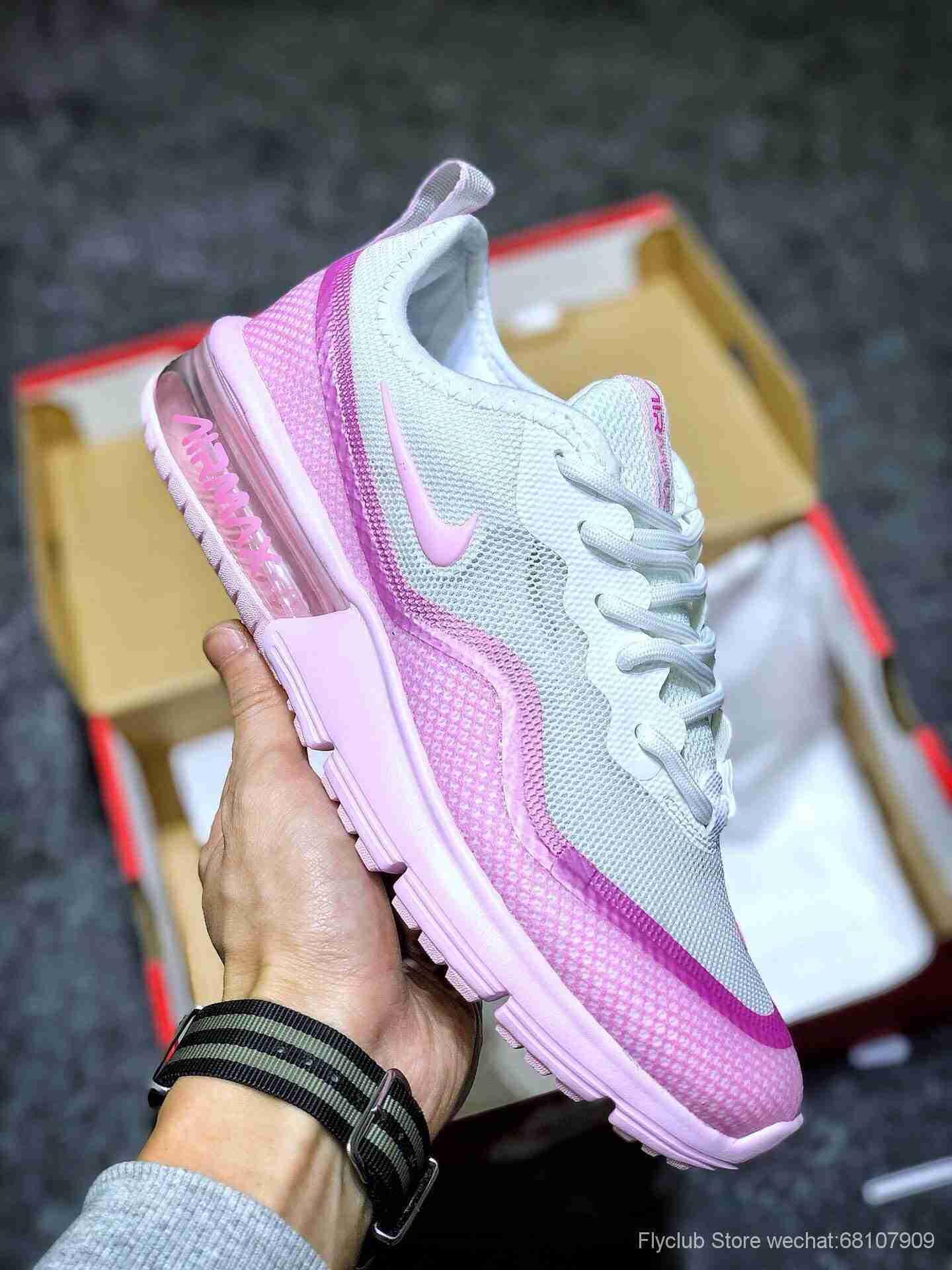 superior quality new list fresh styles Wmns Nike Air Max Sequent 半掌气垫网面透气跑步鞋BQ8825-100 ...