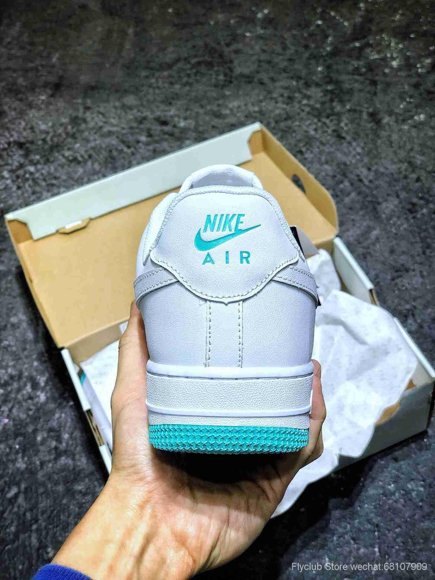 海外新品 Nike Air Force 1 Low '07  白玉 米老鼠恶搞创意联民 空军一号低帮休闲板鞋