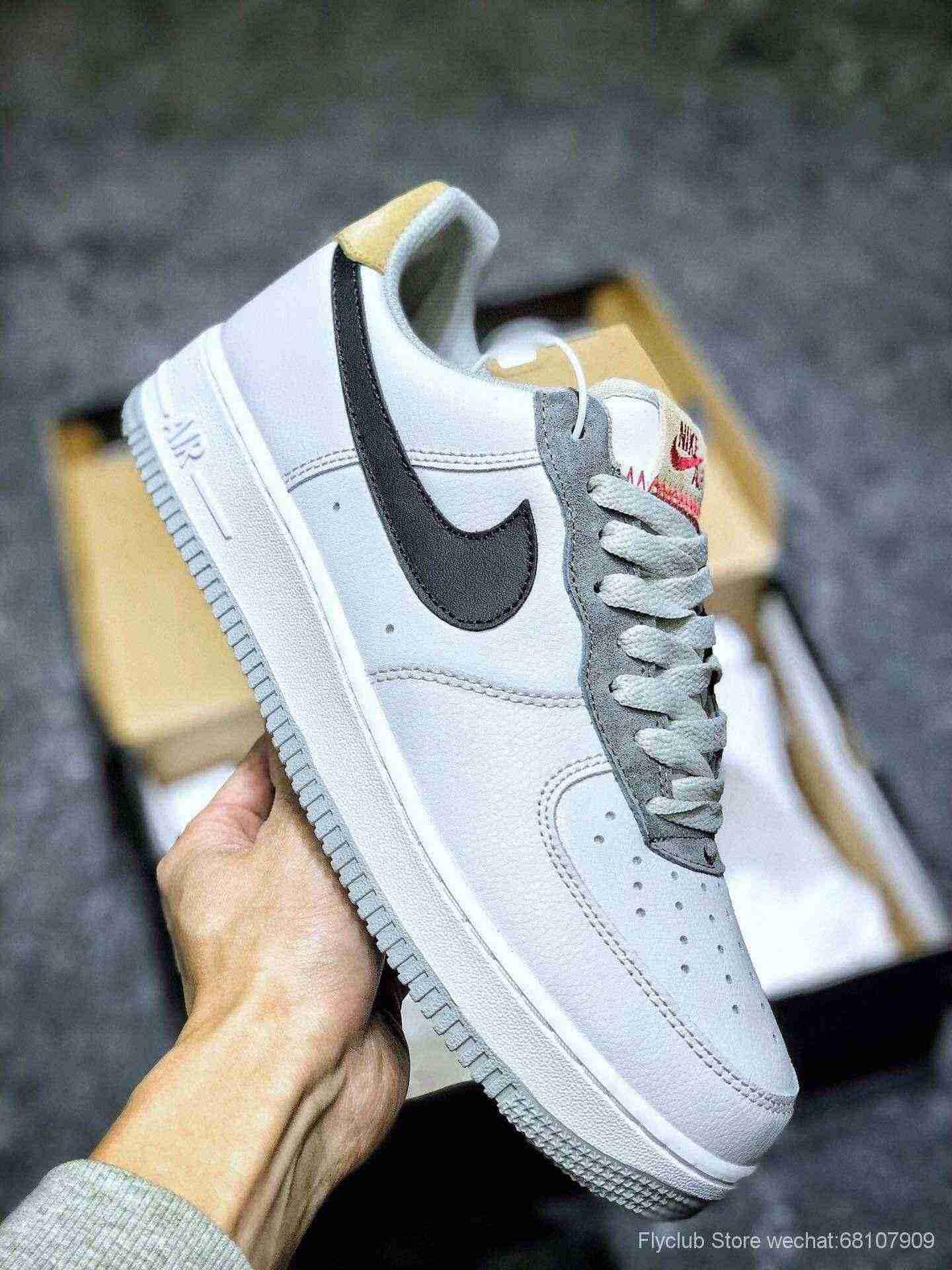 nike板鞋官网_Nike Air Force 1 Low 空军一号低帮板鞋 云母系列两色出货-【ST纯原鞋 ...