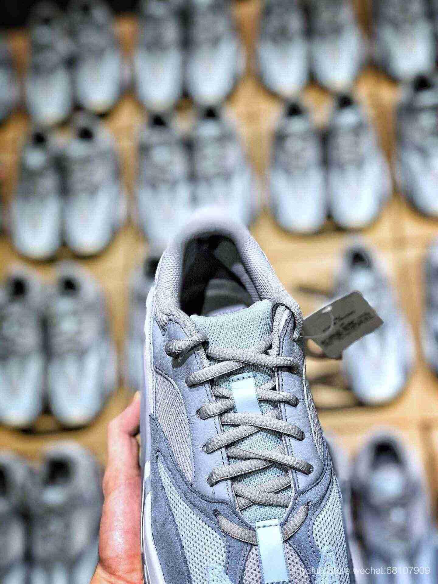 "top ST纯原 Adidas Yeezy 700 Boost Runner ""Inertia""惯性配色,"