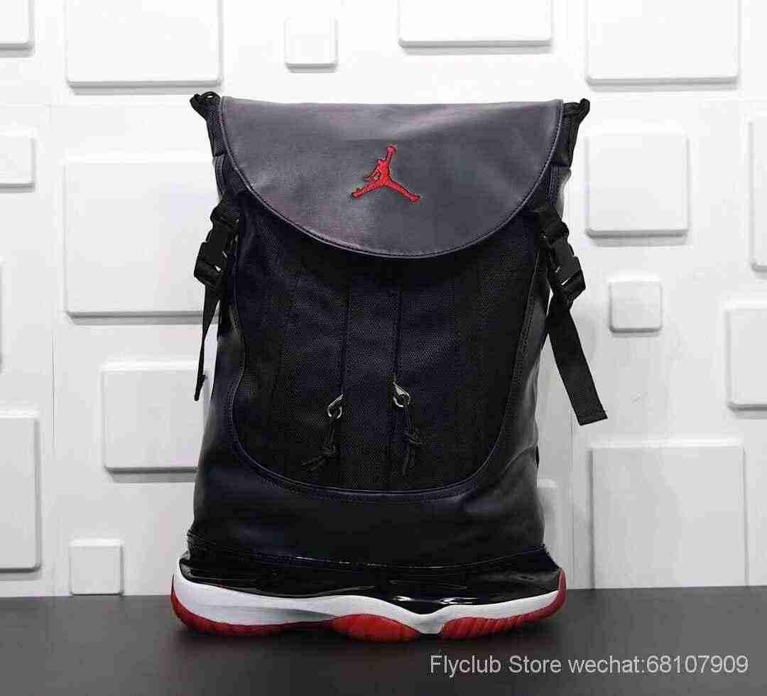 身份�yd�9i��d#yi)�aj_aj11黑红真碳鞋底双肩包 ,以aj    黑红配色为灵感来源 jordan brand