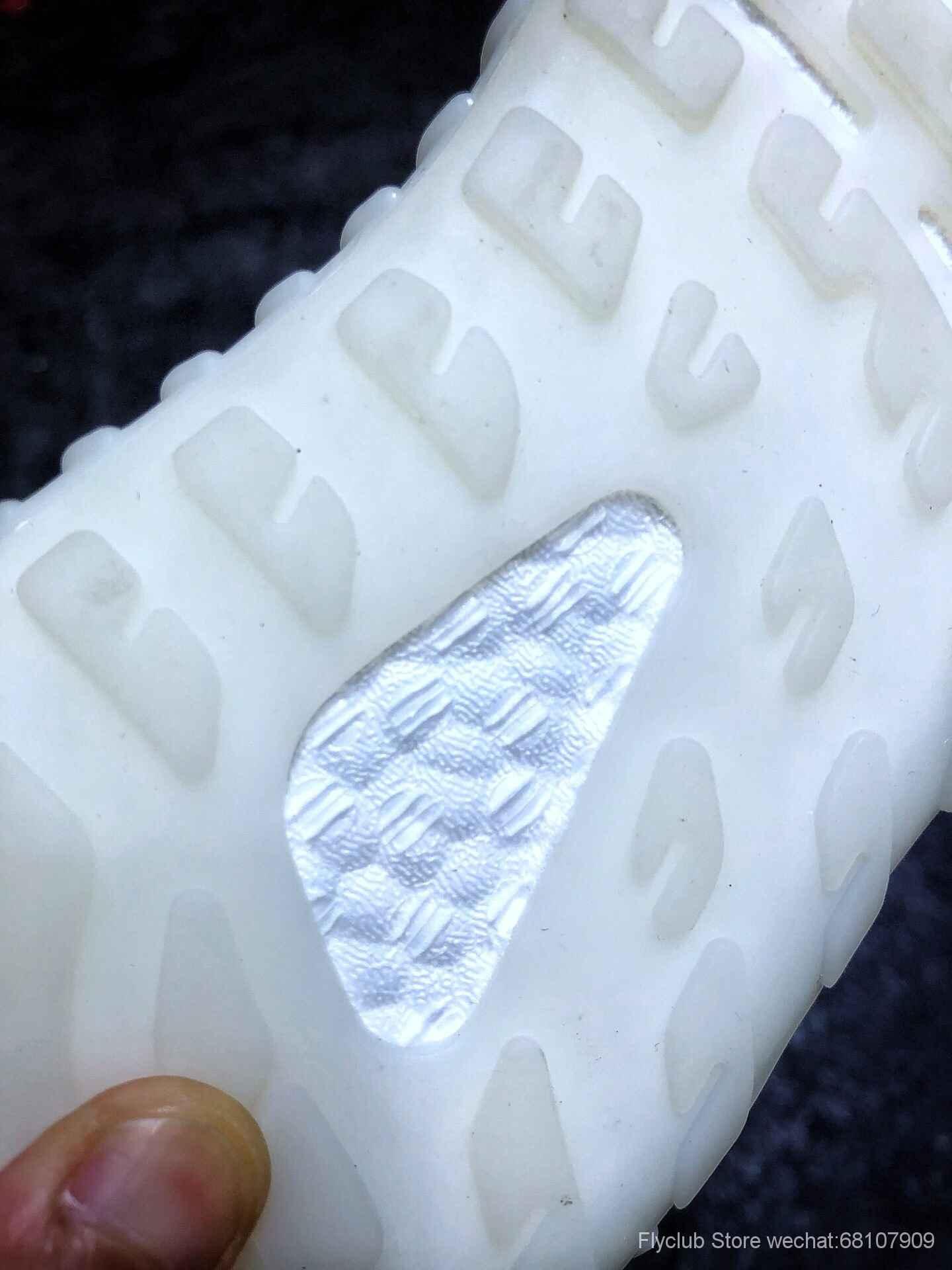 外贸巴斯夫 Adidas Yeezy 350V3 椰子三代白满天星曝光