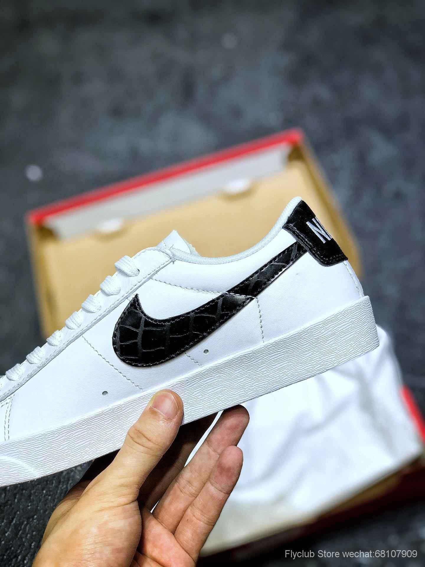 平台专供订单 ‼️Nike Blazer Low Premium开拓者低帮板鞋 夏款 薄鞋舌AA3961-100