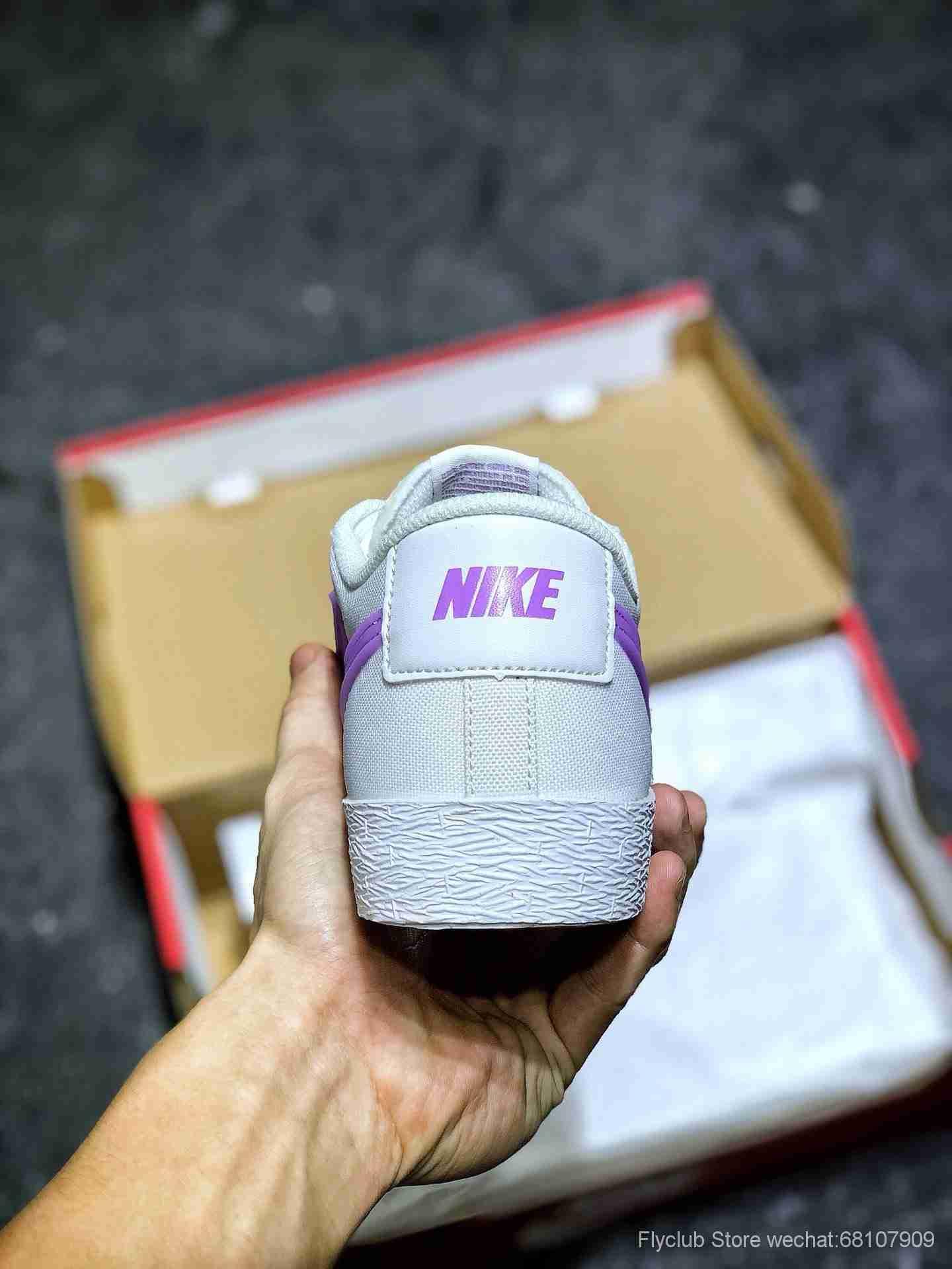 💰158 独家福利‼️Nike Blazer Low 开拓者透气低帮板鞋 夏季款小白鞋,经典百搭