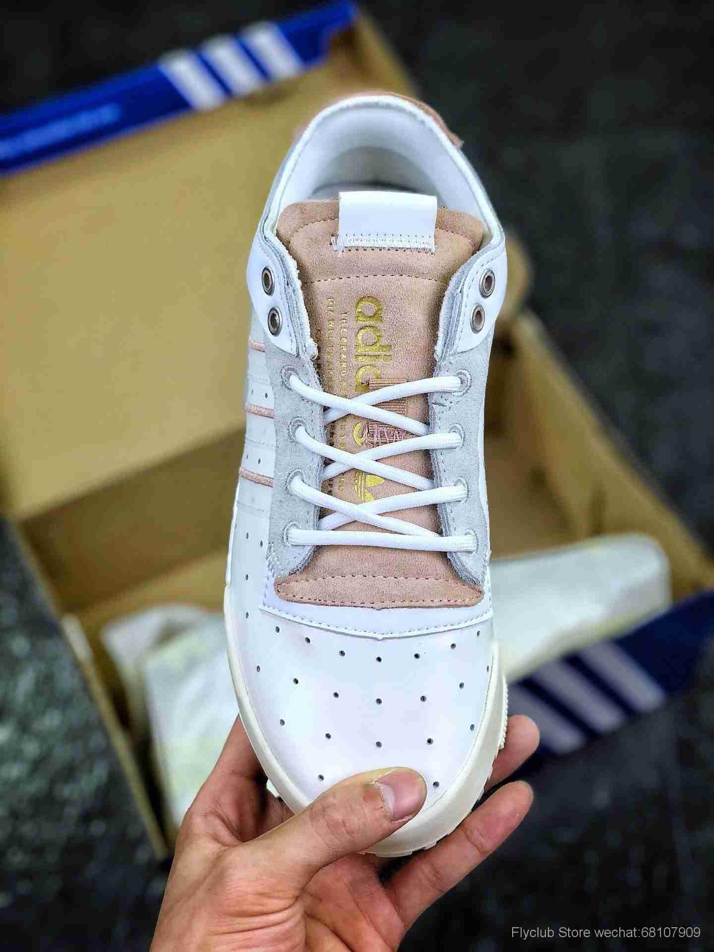 Adidas Rivalry RM 三叶草男女款板鞋 鲜明的配色与前卫的风格重新定义街头时尚EE4986