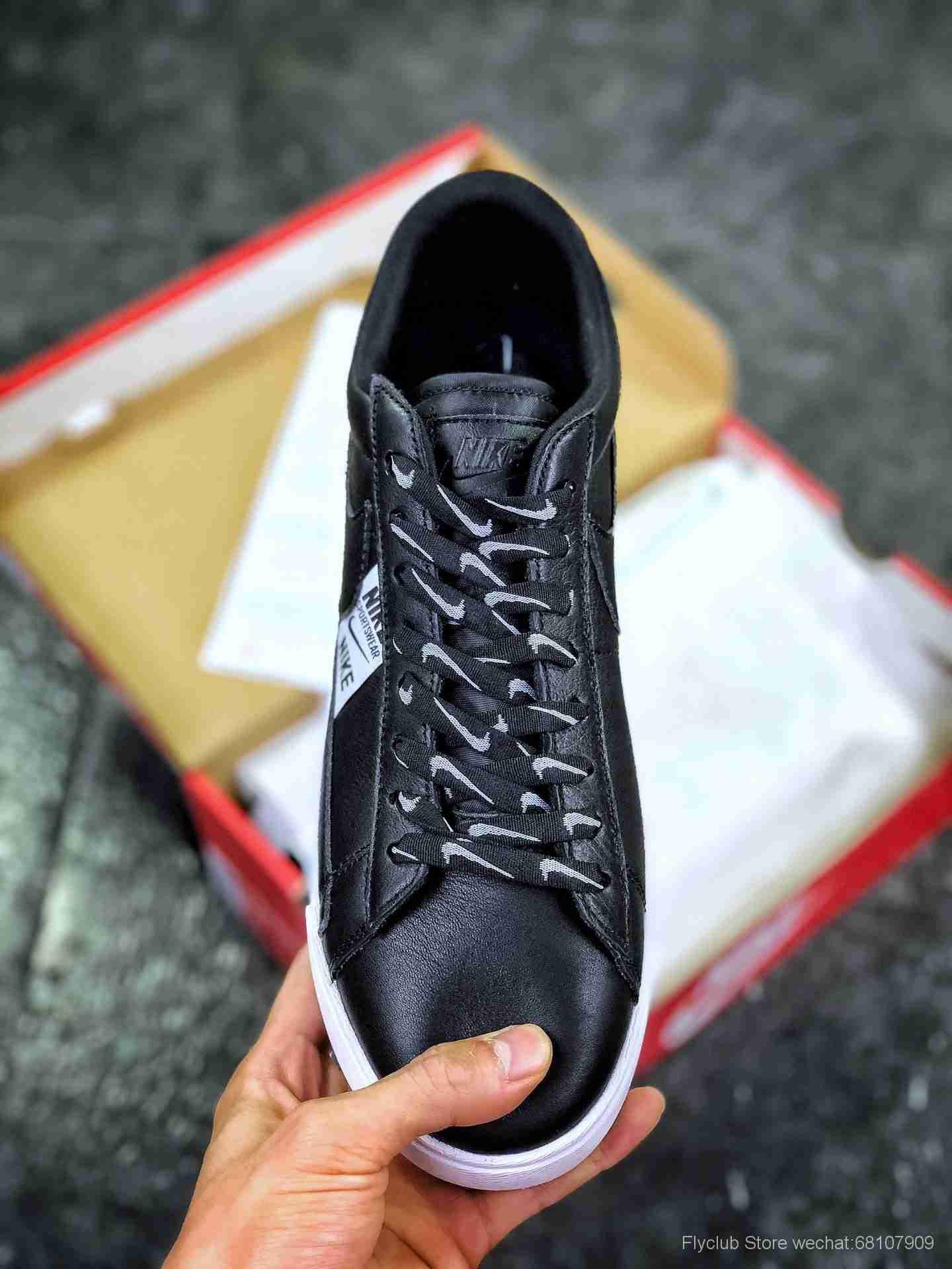 原装头层开拓者 耐克 Nike Blazer Low SE