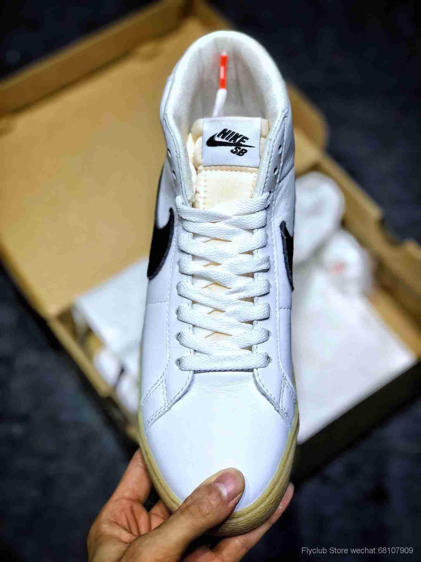 Nike SB Zoom Blazer MID SB开拓者高帮休闲运动板鞋 CD2569-100