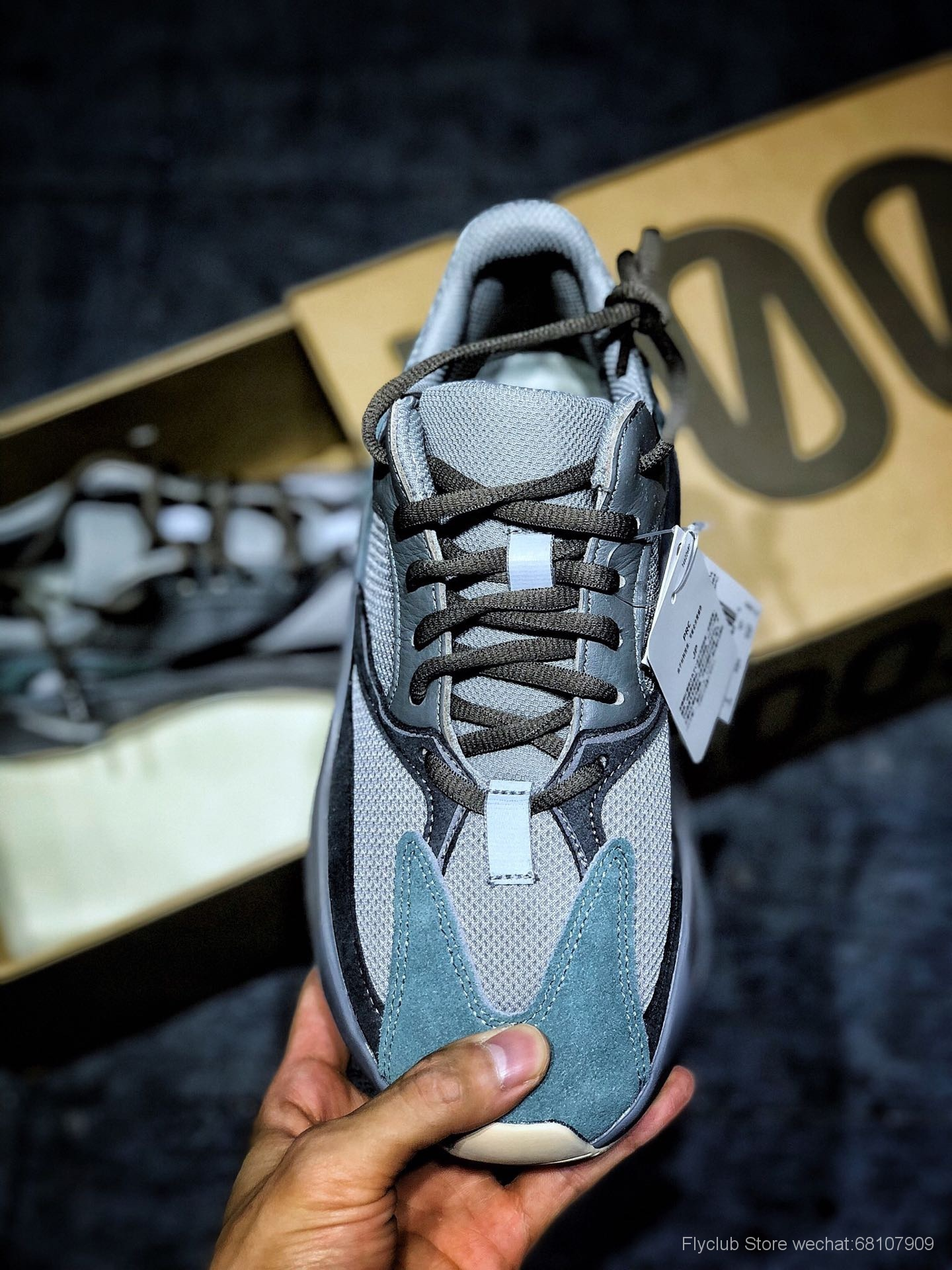 "Yeezy Boost 700 ""Teal Blue""货号:FW2499"