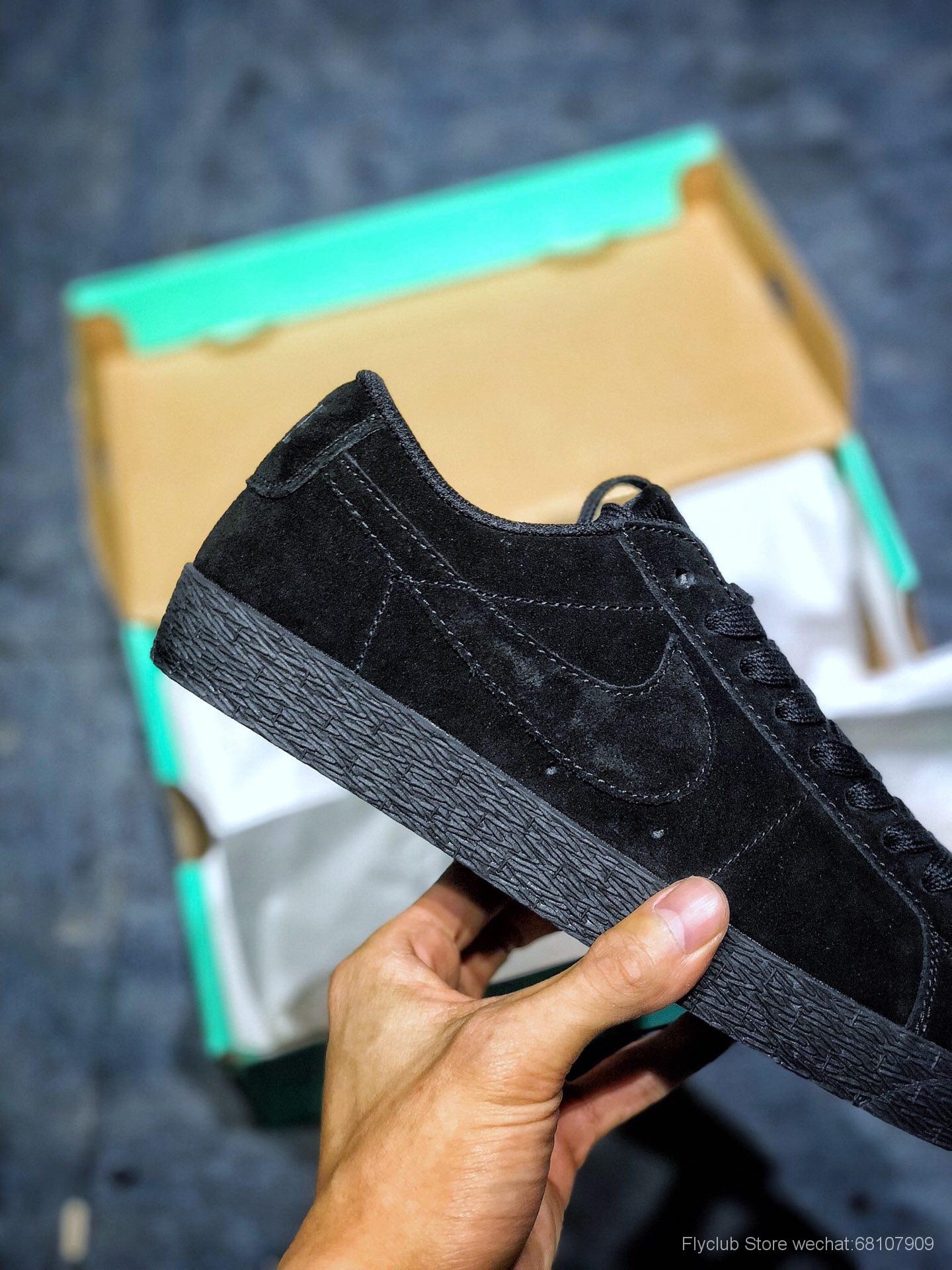 Nike SB Zoom Blazer Low 开拓者SB中性低帮经典百搭休闲板鞋 864347-004