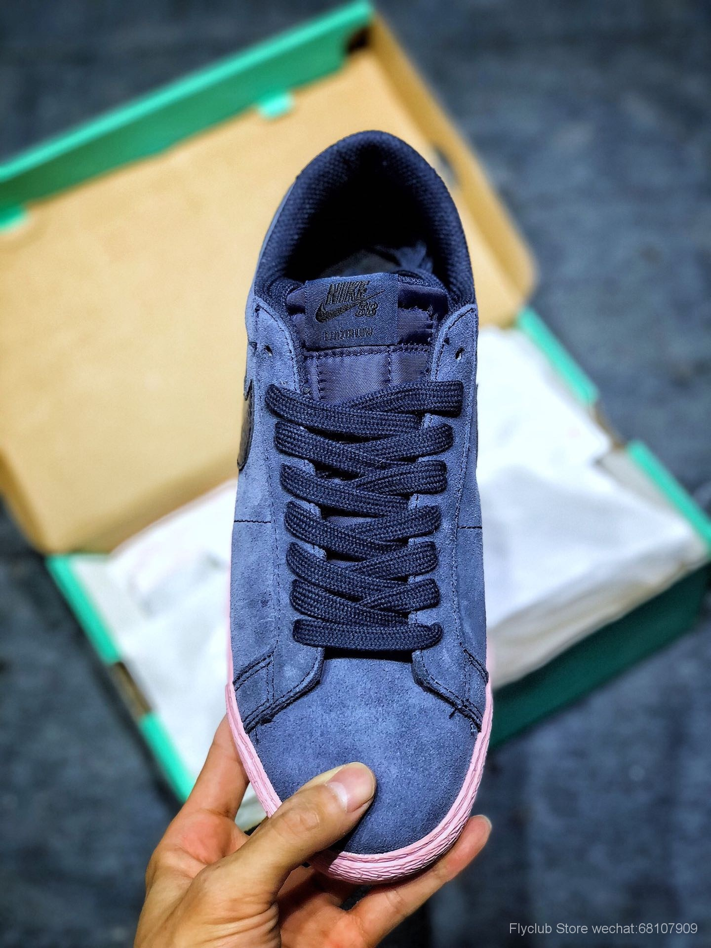 Nike SB Zoom Blazer Low 开拓者SB中性低帮经典百搭休闲板鞋 864347-402
