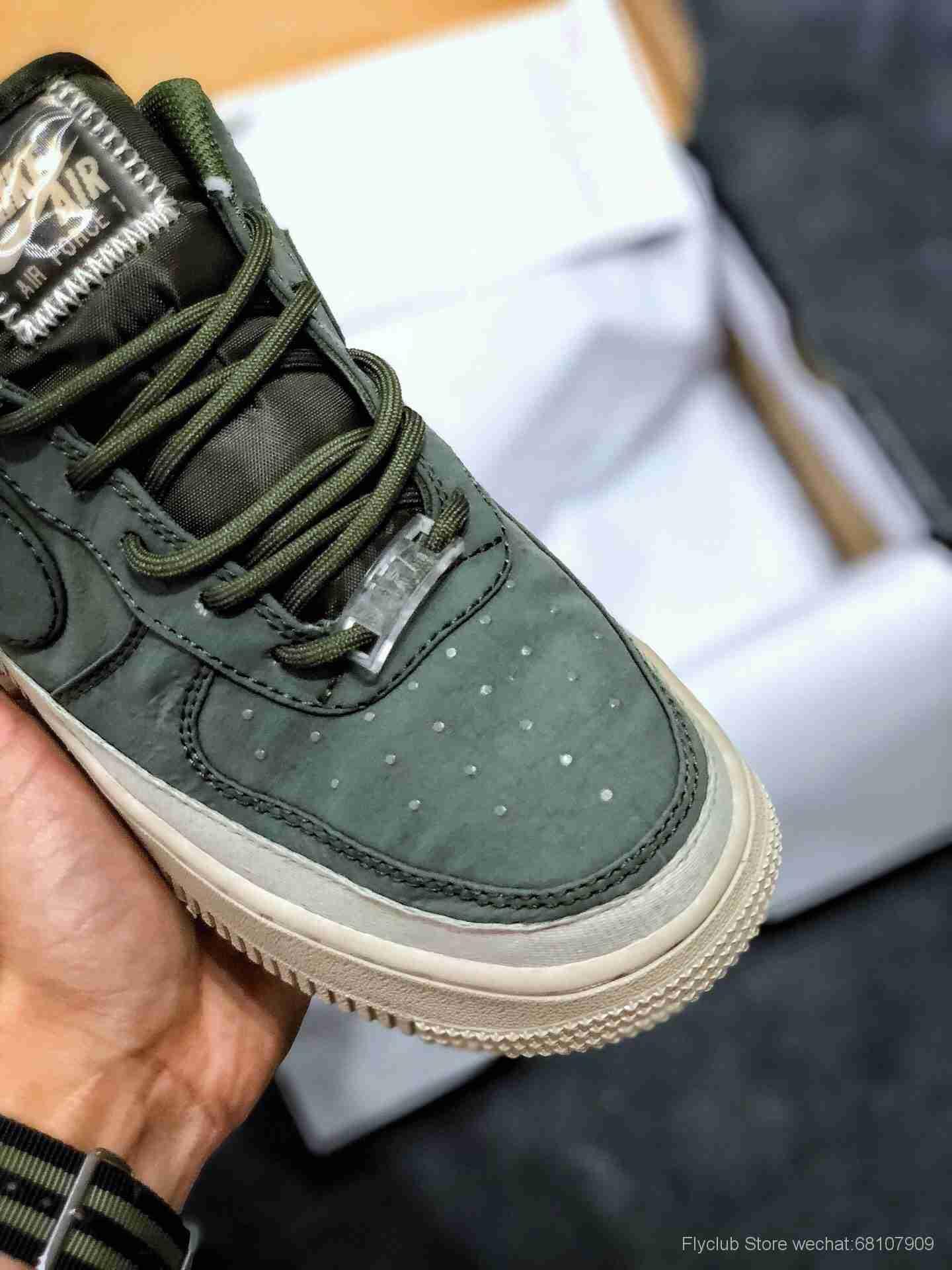 新品出货 耐克 Nike Air Force 1 Low '07 军绿 空军一号低帮货号#AA0287-302