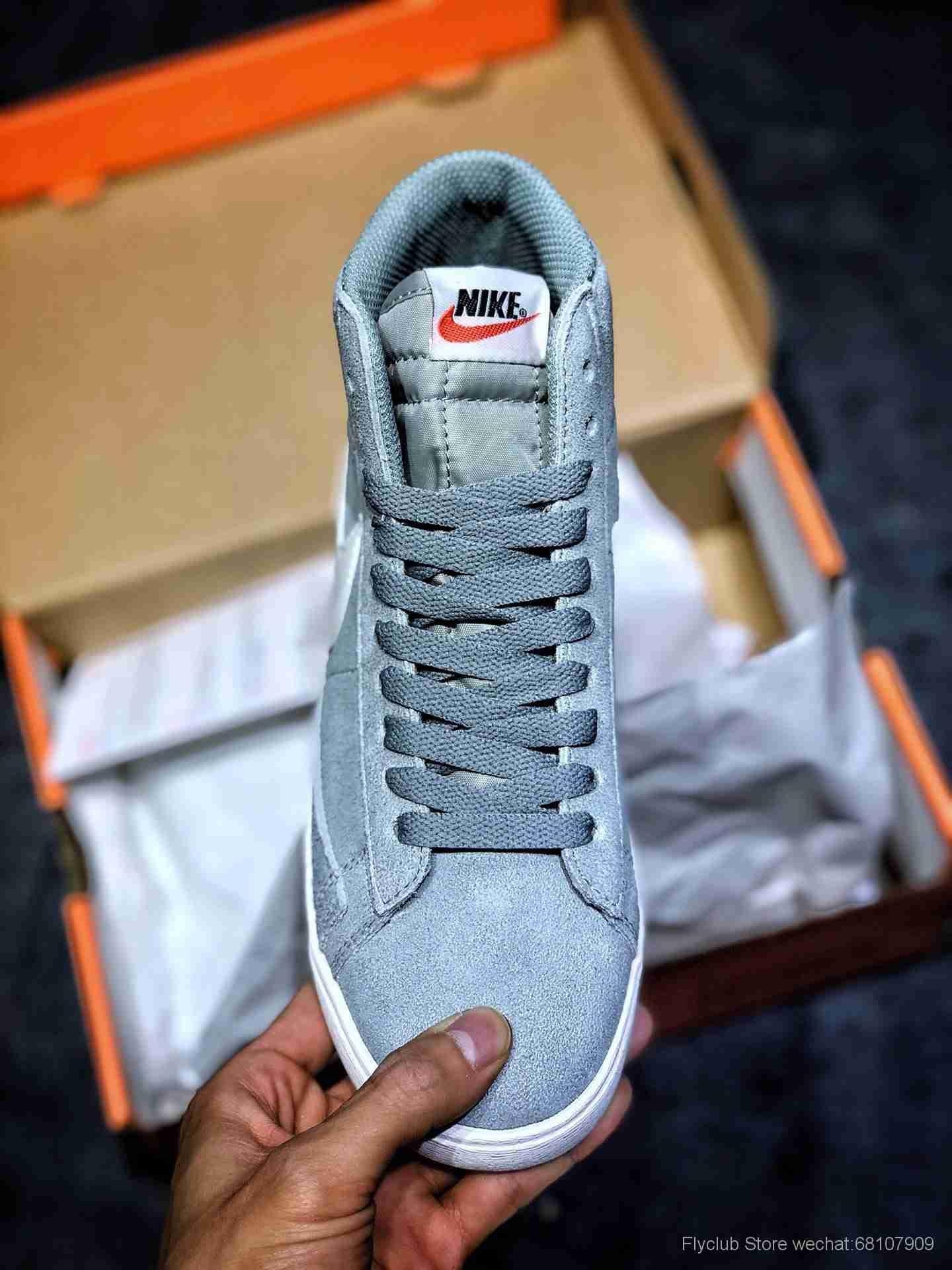 Nike W Blazer Mid Vintage Suede 复古经典中帮开拓者 AV9376-300