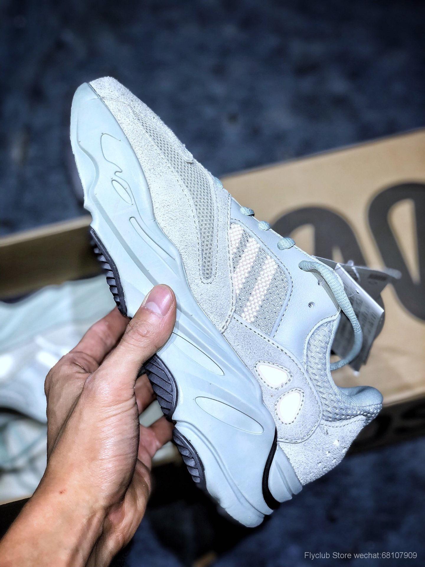 """外贸原装巴斯夫Adidas Yeezy 700  """"Salt """"海盐"""