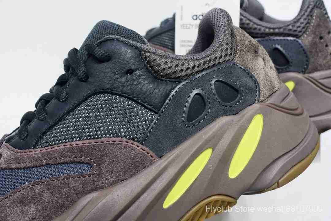 "f404纯原特供 Adidas Yeezy 700 Boost Runner ""Mauve""黑褐色"