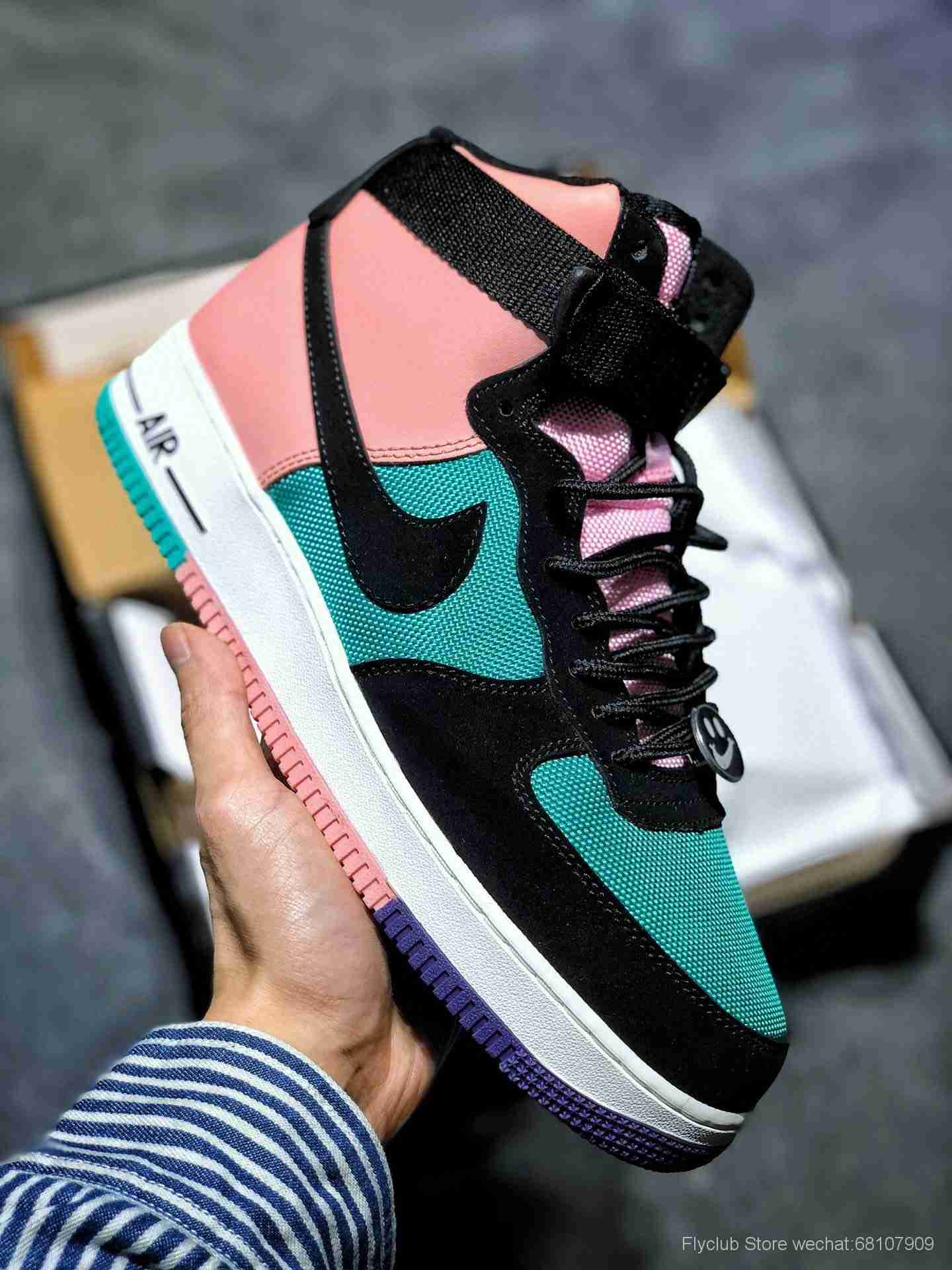 """Air Force 1 High Joins the """"Have a Nike Day""""空军一号"""