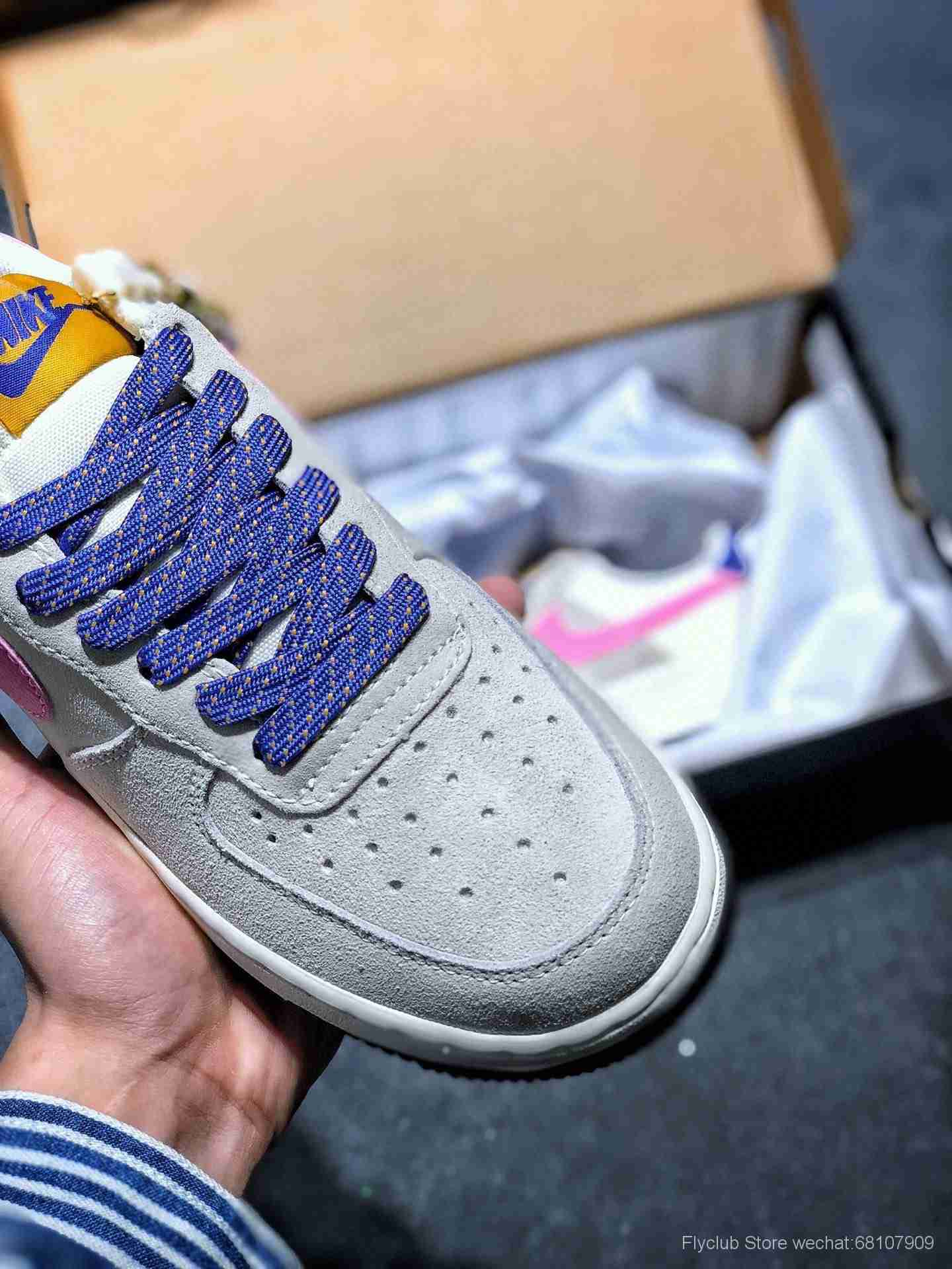 NK AIR FORCE 1 LOW RELEASING WITH ACG VIBES 登山者联名款空军一号CU3007-061
