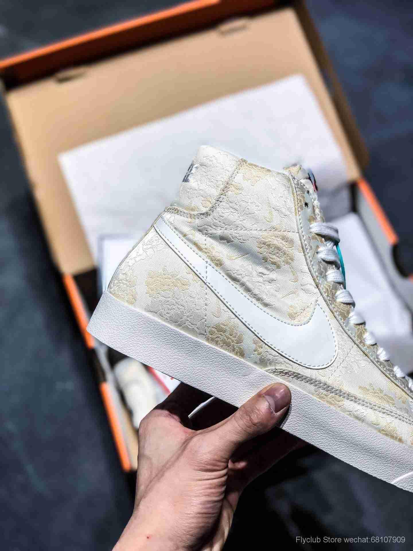 Nike Blazer Mid Retro OG 复古经典高帮开拓者  货号AT4144-300 100