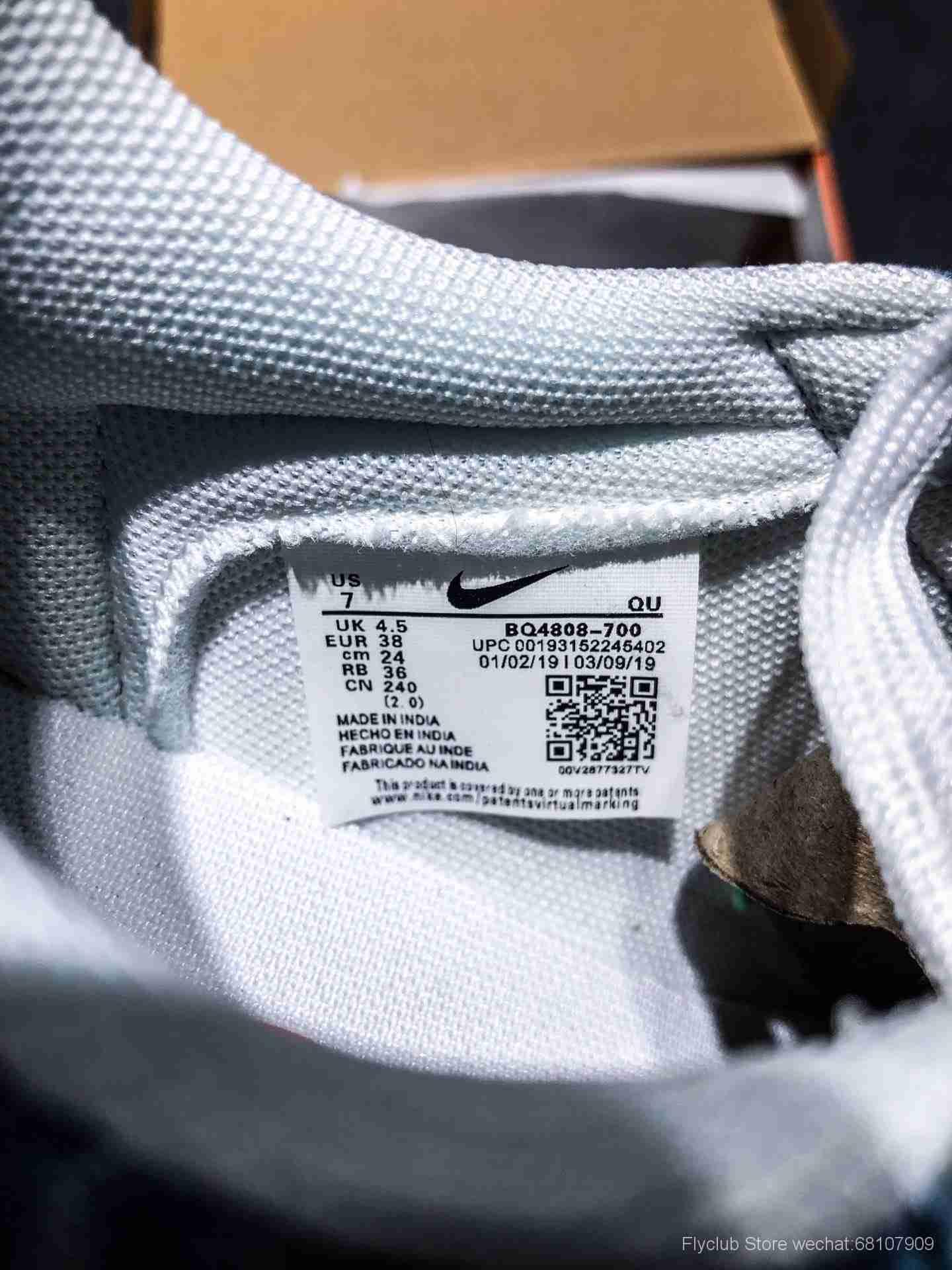Blazer Low QS HH 开拓者牛仔布低帮休闲板鞋 BQ4808-700